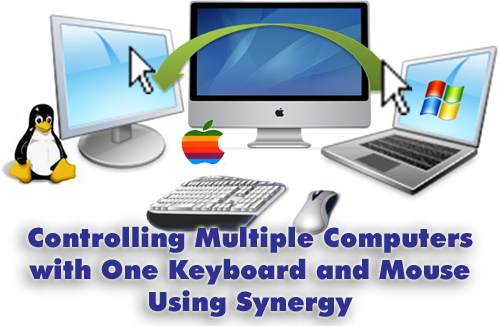 control multiple computers using synergy