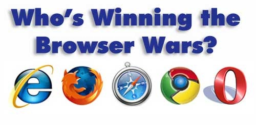 who's winning the browser wars