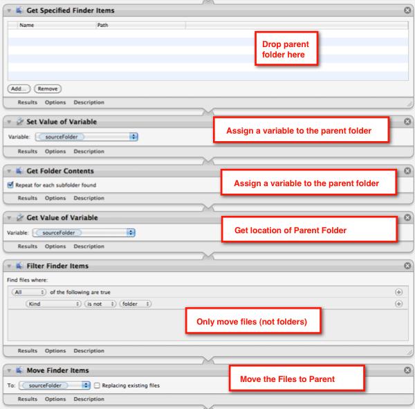 Automator move files