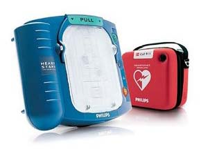 Phillips heartstart defibrillator