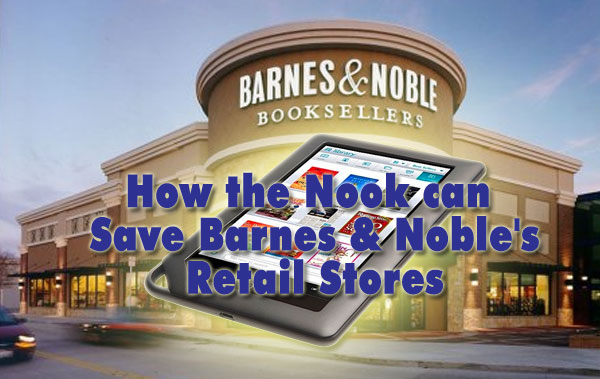 Nook save barnes and noble stores