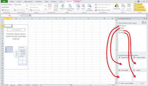 Excel pivot table tutorial 04