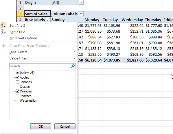 Excel pivot table tutorial 11
